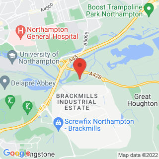 White Water Rafting Northampton Location Map